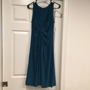 Isabella Oliver (A Pea in the Pod) teal dress